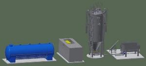 Modell_Biogas_Plant