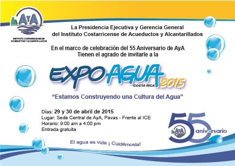 Invitación ExpoAgua 2015